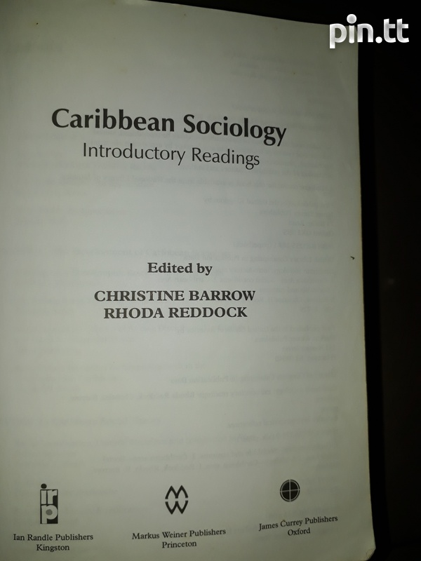 Caribbean Sociology Introductory Readings-2