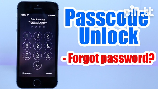 Passcode unlock for andriod and iphone