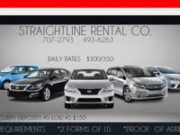 STRAIGHT LINE RENTAL CO.