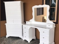 Dresser and Tall Chest of Drawers