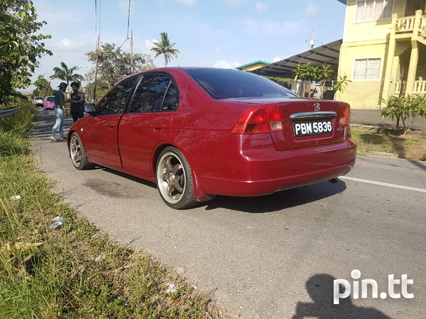 Honda Civic, 2001, PBM-2