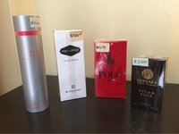 Assortment of New mens and ladies fragrances
