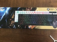 LED keyboard and Mouse