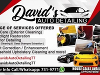 Car Interior Cleaning/Detailing Service