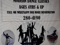 Performing Arts Centre Modern Dance Classes