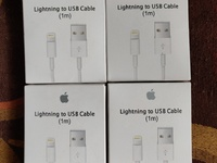 Original Apple 1M Lightning To USB Cables