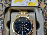 Fossil All Gold Men's Watch Model No. BQ2329 Brand New