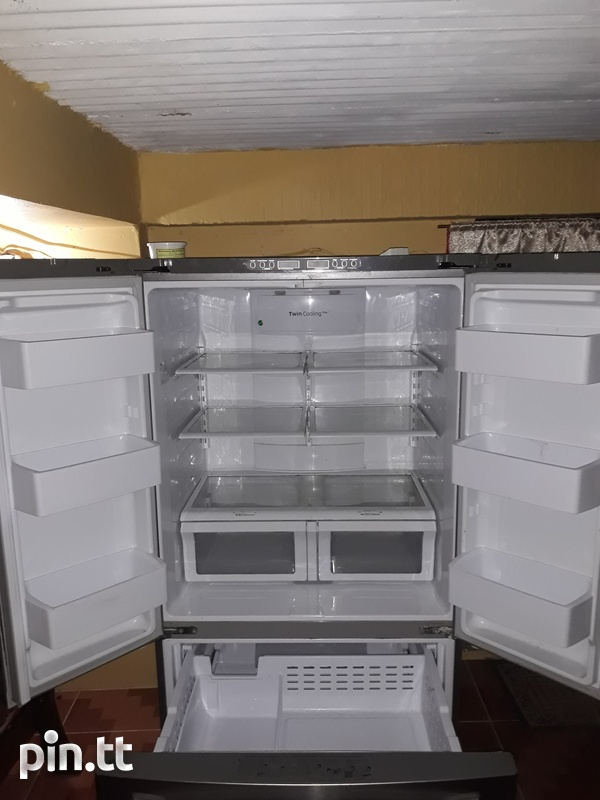Samsung Chrome French Door Refrigerator-4