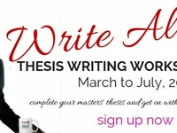 Write Along Thesis Writing Workshop Series for masters students