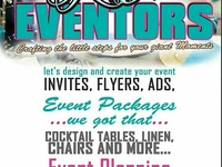 Event planning, event rental and graphic design services