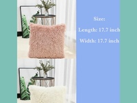 Fuzzy Cushion Covers