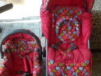 Stork Carseat and Stroller combo