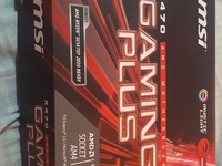 X470 MSI gaming plus and mother board