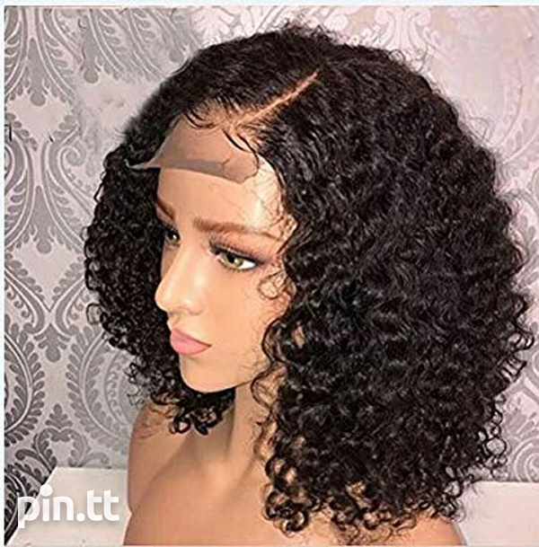 Human hair Lace front wig-2