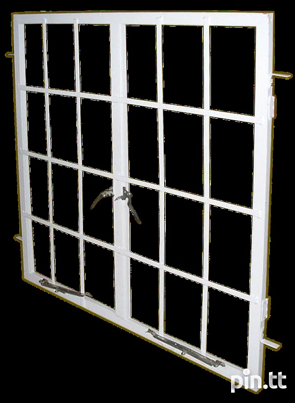 4 x4 Single French Steel Windows-2