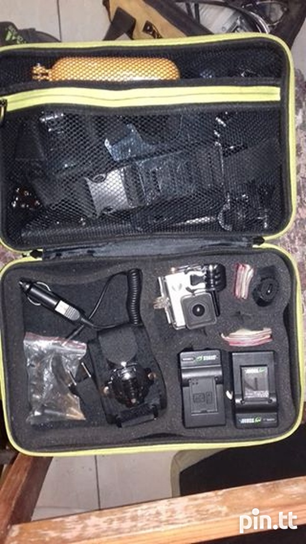 Used GoPro Hero 3 with all accessories-1