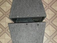 A pair of 8inch flare Box and covers.