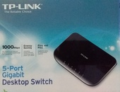 TP Link 5 Port Gigabit Switch, in box
