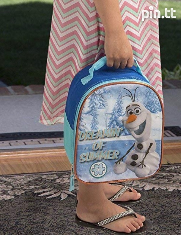 Olaf and justice league heat insulated neoprene lunch bags-5