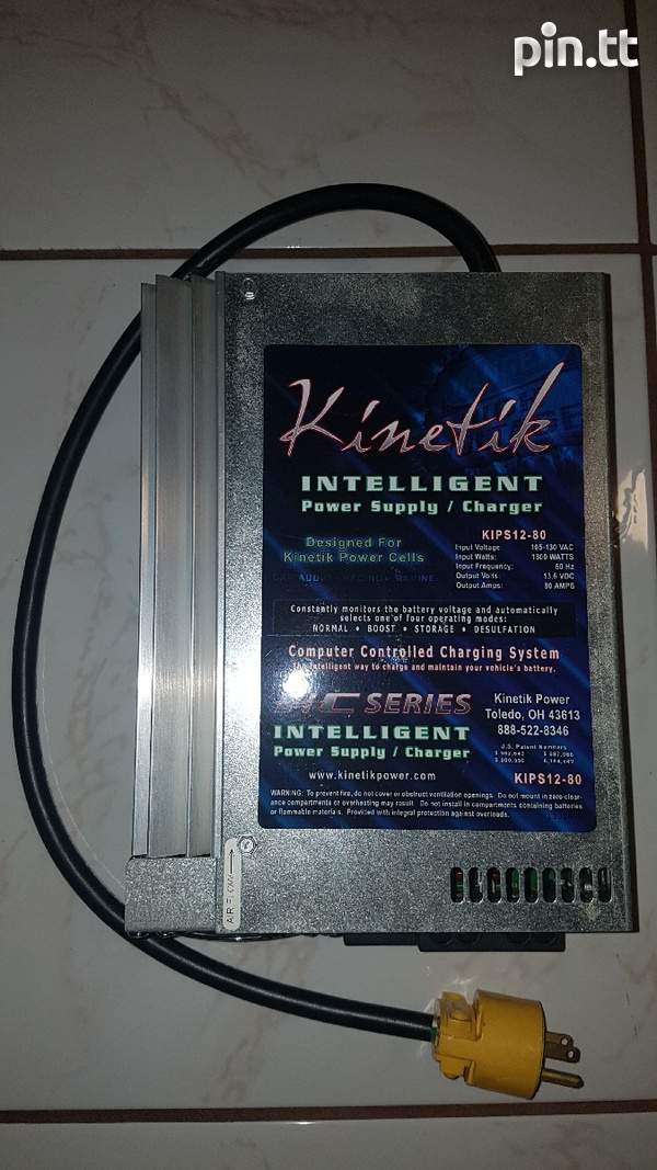 Kinetic Power Supply/Charger-1