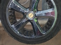 22s rim and tyre