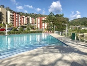 West gated and secured apt with 2 bedrooms