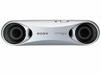 Sony SRS-T33 Compact Portable Speakers 3.5 jack, AAA x2 bat, 10/10