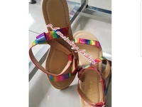 Liliana Mulitcolor Sandals