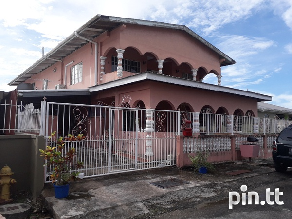 COUVA. LOVELY, spacious 6-Bedroom, 2-storey house-1