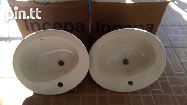 Two face basin with tap new brand-2