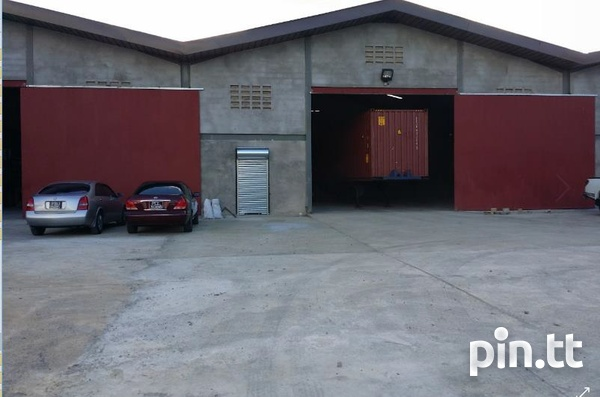 WAREHOUSE SPACE at a Central Location in Aranguez-3