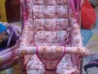 Baby crib/playpen and stroller