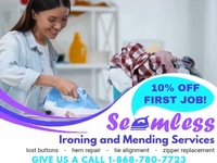 SEAMLESS Ironing and Mending Services