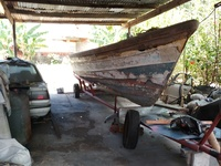 28ft pirogue and trailer TFG 1808