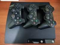SLIM PS3 + 3 CONTROLLERS
