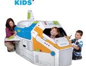 DISCOVERY KIDS 5 FOOT COLOUR ME ROCKET SHIP