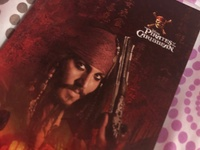 Pirates of the Caribbean notebook