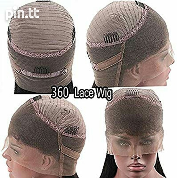 Human hair Lace front wig-3