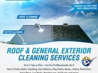 Mr Sparkle Roof Cleaning Services