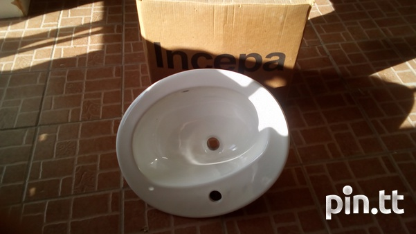 Two face basin with tap new brand-1