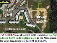 FAIRWAY GREENS Residential parcels.