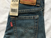 Levis Kids/Boys 505 Regular Fit Jeans