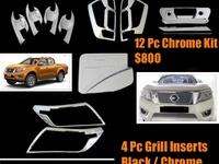 Np300 Chrome Grill Inserts and 12 Pc Chrome Kit