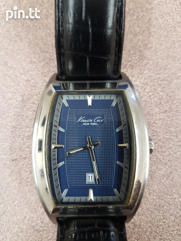 Genuine leather Kenneth Cole watch-2