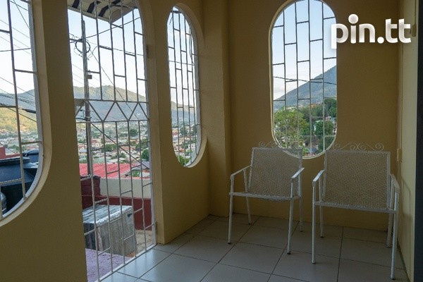 Upper Quarry St Diego Martin 2 bedroom downstairs unfurnished apt-1