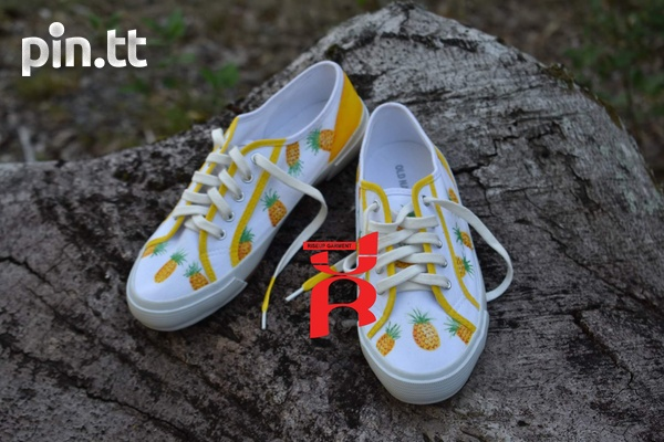 Pineapple Shoes Hand Crafted-3