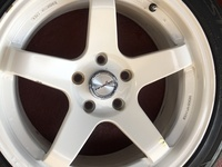 17x8.5 inforged rims And Tyres 5x114