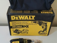 Brushless Drywall Screwgun Kit