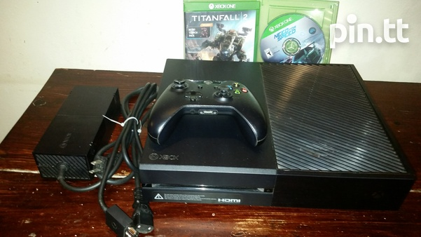 XBOX ONE Console 1 controller and 2 games-2