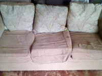 Used couch and single chair